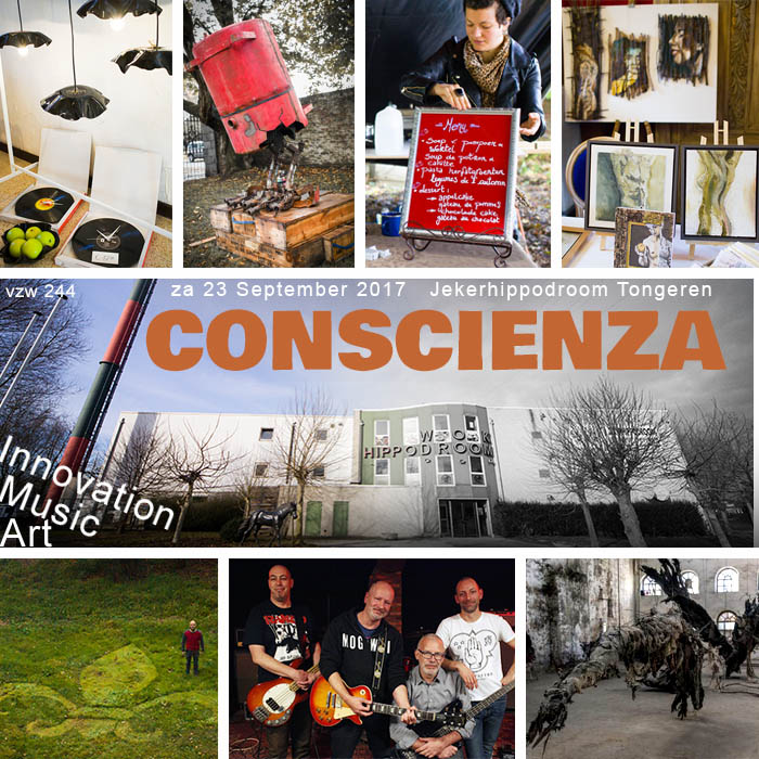 Conscienza festival 2017 Jekerhippodroom Tongeren